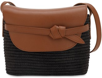 Cesta Collective Cotton Canvas & Leather Shoulder Bag