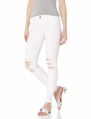 Joe's Jeans Women's Flawless Icon Midrise Skinny White Jean