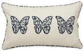 Home Outfitters Butterfly Embroidered Throw