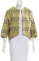 Giambattista Valli Lightweight Pattern Jacket
