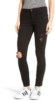 Articles of Society Women's Karen Ripped Crop Skinny Jeans