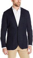 Nautica Men's Solid Linen Blazer