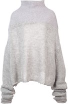 Unravel Project mesh knit sweater