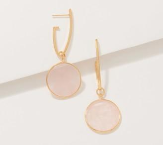 Lola Rose Plum Gemstone Dangle Earrings