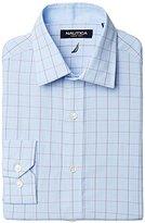 Nautica Men's Glen Plaid Button-Front Shirt