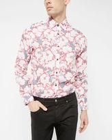 DOLLFIN Floral cotton shirt