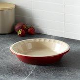 Crate & Barrel Le Creuset ® Cerise Pie Dish
