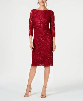 Jessica Howard Petite Lace Sheath Dress