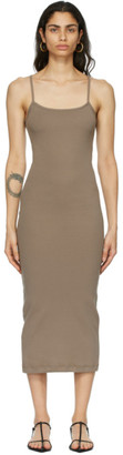 Nu Swim Taupe Organic Cotton Ginger Dress