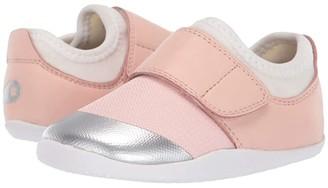Bobux Xplorer Dimension II (Infant/Toddler) (Seashell/Silver) Girl's Shoes