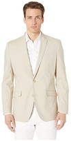 Kenneth Cole Reaction Unlisted Chambray Sports Coat (Beige) Men's Jacket