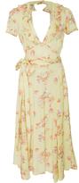 By Ti Mo byTiMo Shiny Vintage Wrap Dress