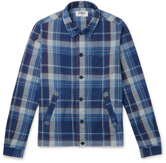 YMC Checked Cotton-Twill Overshirt