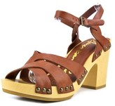 Alfani Cassidy Women Open Toe Synthetic Brown Sandals.