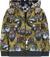Molo Printed hoodie Molton