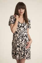 Velvet Nazrena Dress in Black