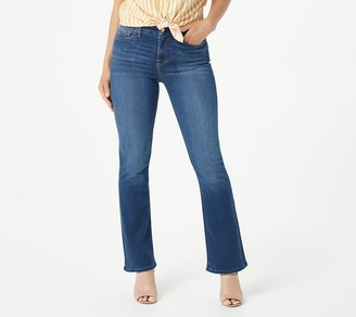 JEN7 by 7 For All Mankind Jen7 for 7 for All Mankind Petite Slim Bootcut - Medium Blue