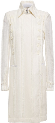 Ann Demeulemeester Double-breasted Lace Coat