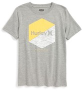 Hurley Boy's Two Times Graphic T-Shirt