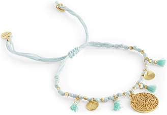 Ashiana Jewellery Coin and Tassel Friendship Bracelet