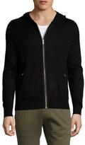 The Kooples Zip Hooded Jacket