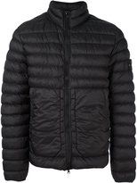 Stone Island zipped padded jacket - men - Feather Down/Polyamide - XL