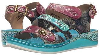 Spring Step L'Artiste by Sumacah (Aqua) Women's Shoes