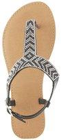 Charlotte Russe Embellished T-Strap Sandals