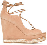 Sam Edelman Harriet lace-up wedges - women - Leather/rubber - 36