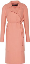 Rochas Fleece wool-felt coat