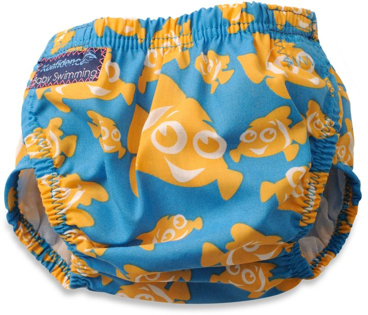 Bed Bath & Beyond Konfidence One-Size Aquanappy Swim Diaper in Clownfish