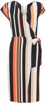 Therapy Lulu Wrap Belted Dress