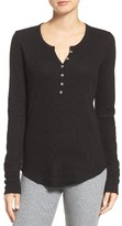 PJ Salvage Women's Ribbed Henley
