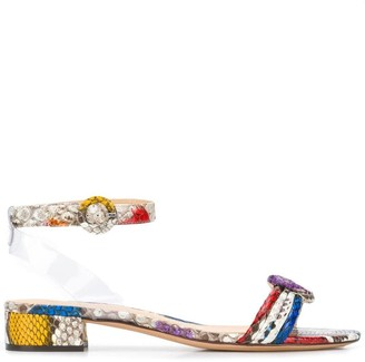 Alexandre Birman Colour Block Open-Toe Sandals