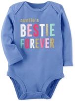 Carter's Auntie's Bestie Cotton Bodysuit, Baby Girls (0-24 months)