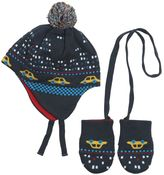 Paul Smith Doubled Knitted Cotton Hat & Mittens