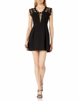 BCBGeneration Women's Lace Inset Dress