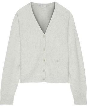 Joie Hadyn Melange Wool And Cashmere-blend Cardigan