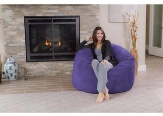 Chill Sack 4 ft Memory Foam Bean Bag Chair, Multiple Colors/Fabrics