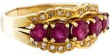 Ring 14K Ruby & Diamond