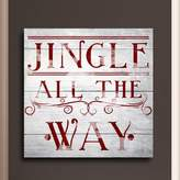 Oliver Gal Jingle All the Way Canvas