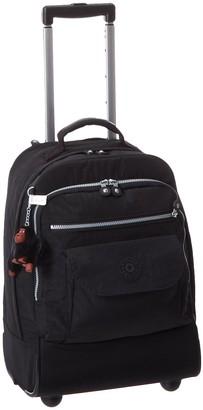 Kipling Luggage Sanaa Black Rolling Backpack One Size