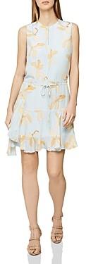 Reiss Sienna Floral Print Dress