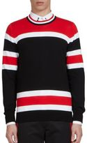 Givenchy Striped Wool Crewneck Sweater