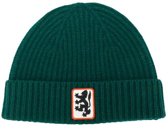 Pringle Reissued lion badge beanie
