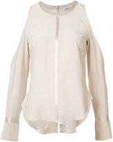 Elizabeth and James cold-shoulder blouse