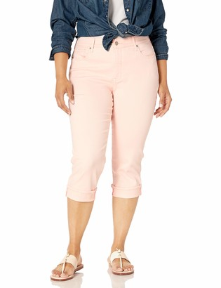 NYDJ Women's Size Plus Marilyn Crop Cuff Jean