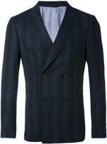 Z Zegna double breasted blazer - men - Cotton/Spandex/Elastane/Cupro/Wool - 48