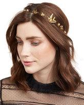 Jennifer Behr Wren Floral Swarovski® Pearl Bandeau Headband