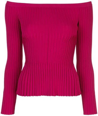 Altuzarra off-shoulder knitted jumper